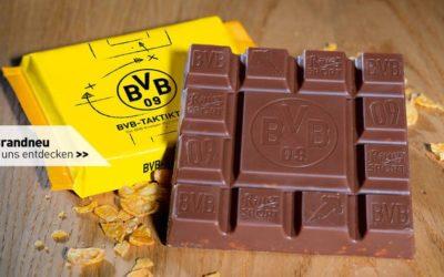 Ritter Sport e Borussia Dortmund: merchandising vincente