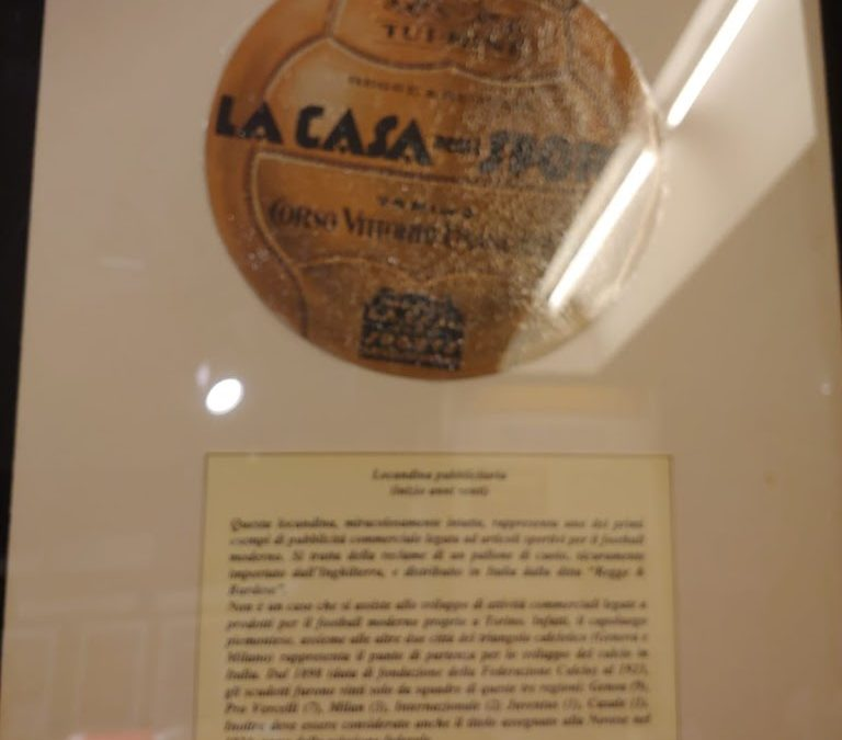 Football Museum : evoluzione tecnica e di marketing del pallone da calcio